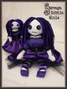 Gothic art dolls auction on ebay