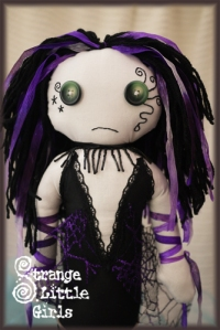 Gothic mermaid doll