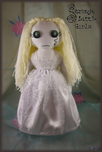 Gothic ghost bride doll